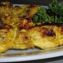 Delicious Chicken Tikka Skewers recipe