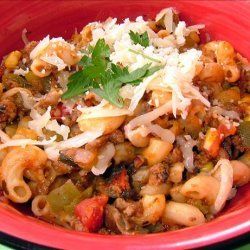 Kelly's Kitchen Sink Goulash! recipe