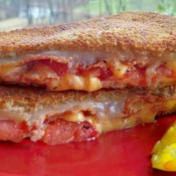 Bacon and Tomato Grilled Cheese Sandwich recipe
