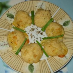 Mozzarella Cheese Puffs (Piumini di Mozzarella al Forno) recipe