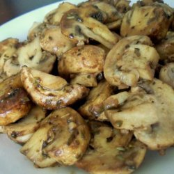 Quick Sauteed Mushrooms recipe