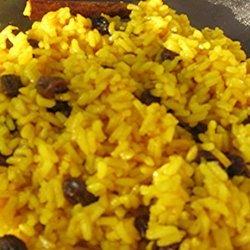 Yellow Rice (Begrafnisrys) recipe