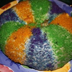 King Cake Traditional New Orleans Recipe recipe
