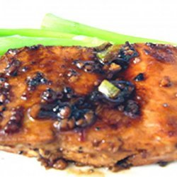 Grilled Salmon With Hot Red Sauce recipe