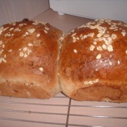 Oatmeal Walnut Bread recipe