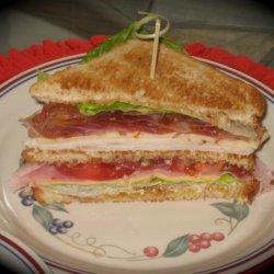 Kittencal's Classic Club Sandwich recipe