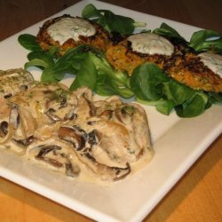 Pork Aux Champignons (French Pork With Mushrooms) recipe