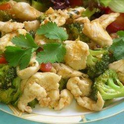 Chicken Sweet & Sour Stir-Fry recipe
