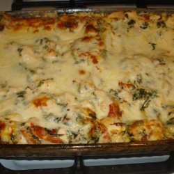 Chicken Caesar Lasagna recipe