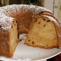 Sour Cream Apple Cake recipe