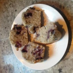 Jumbo Blueberry Muffins With Streusel Topping recipe