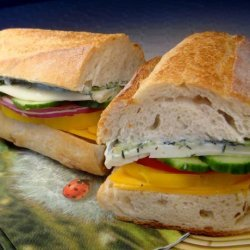 Veggie Salad Sandwich recipe