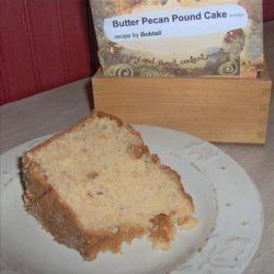 Butter Pecan Pound Cake recipe