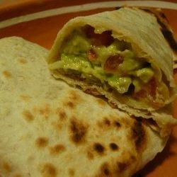 Easy Avocado Burrito recipe