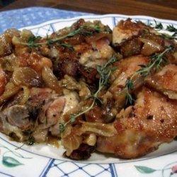 Good Eats 40 Cloves and a Chicken (Alton Brown) recipe