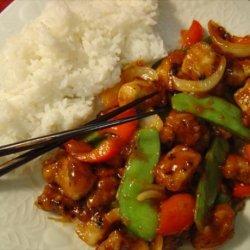 Hawaiian Pork Stir-Fry recipe
