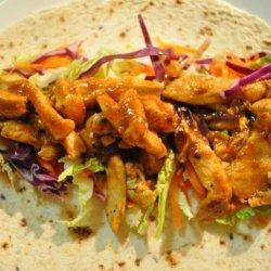 Mou Shu Chicken Wraps recipe