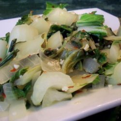 Stir Fry Bok Choy recipe