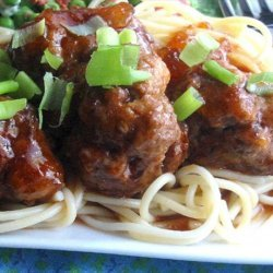 Pineapple Barbecued  Meatballs recipe