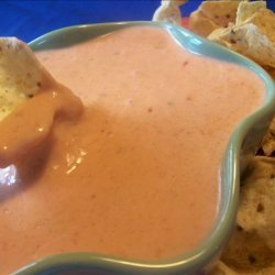 Copycat Pancho's Cheese Dip recipe