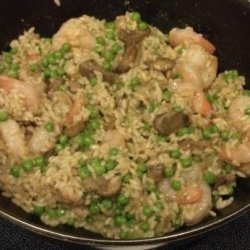 Risotto - Shrimp and Wild Mushroom recipe