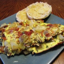 Eggs With Bacon, Onions, and Potatoes (Hoppelpoppel) recipe