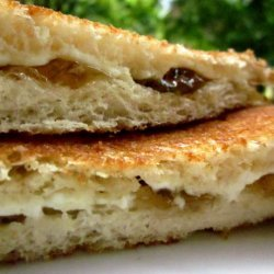 Grilled Cream Cheese Sandwich recipe