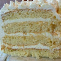 Lemon Layer Cake With Lemon Curd and Mascarpone recipe