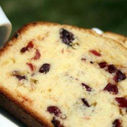 White Chocolate Cranberry Bread recipe