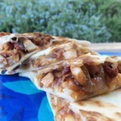 Yum...a Tasty Barbecue Chicken Quesadilla recipe