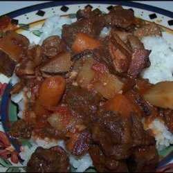 Decadent Crock Pot Beef Stew With Red Wine recipe