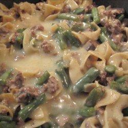 Leftover Meat Casserole recipe