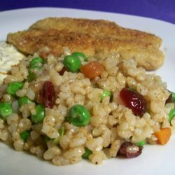 Brown Rice With Vegetables recipe