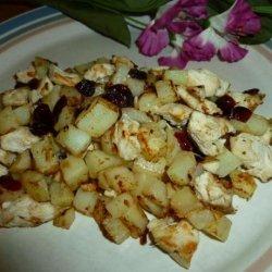 Chicken, Cherries and Potato Hash #5FIX recipe