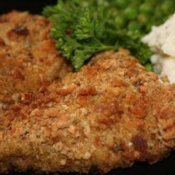 Crispy Stuffing-Coated Chicken Breasts recipe