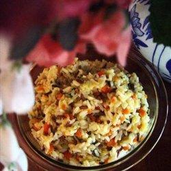 White & Wild Rice Pilaf recipe