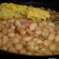White Bean Soup with Ham recipe