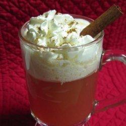 Hot Buttered Cranberry Cider recipe