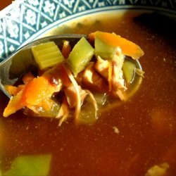 Hot and Sour Turkey Soup recipe
