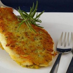 Potato-Rosemary Crusted Fish Fillets recipe