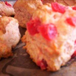 Dried Cherry Scones recipe