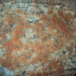 Potato Casserole with Spinach and Feta recipe