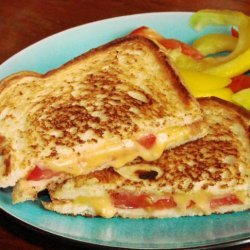 Grilled Tomato and Cheese Sandwiches recipe