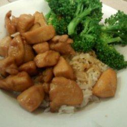 Chicken and Teriyaki  Sauce recipe
