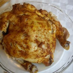 Slow Cooker Rotisserie Style Memphis Chicken recipe
