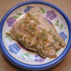 Salmon With Dijon Dill Shallot Sauce recipe
