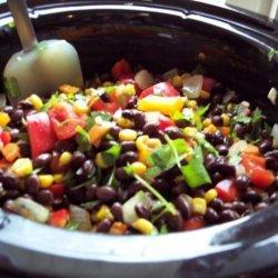 Crock Pot Black Bean Burritos recipe