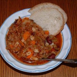 Minestrone Soup With Meat recipe
