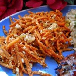 Spiced Carrot Salad (Greek) recipe