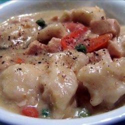 Crock Pot Chicken N' Dumplings recipe